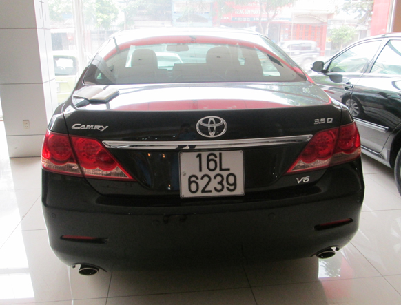 b n xe t toyota camry 3 5q v6 2007 30324 quoctoanauto. Black Bedroom Furniture Sets. Home Design Ideas
